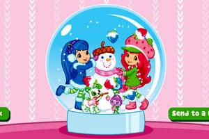草莓公主水晶球图片