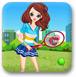网球小美女
