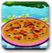 美味的鱼香比萨