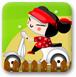 中国娃娃骑摩托