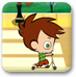 滑板小少年