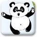 美女狂踢小熊猫