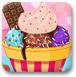 巧克力冰淇淋装饰