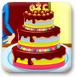 装饰生日蛋糕