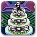 怪物高的婚礼蛋糕