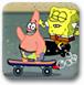 海绵宝宝滑板赛