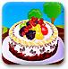 可口的水果蛋糕
