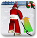 圣诞老人打冰球