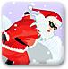 圣诞老人爱滑雪