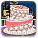 漂亮的新年蛋糕
