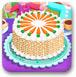 制作蔬果蛋糕