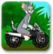 汤姆开摩托