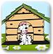 帮助小狗盖房子