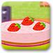 奶油草莓薄荷蛋糕