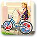 芭比城市骑单车