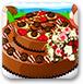 装饰美丽蛋糕
