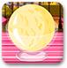 美味的冰淇淋球