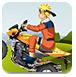 鸣人驾驶摩托车
