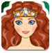 梅里达公主的发型