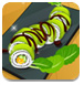 绿色龙卷寿司