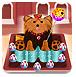 可爱小动物蛋糕