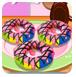 烤彩虹甜甜圈