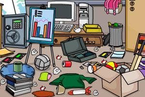 逃出杂乱的房间图片
