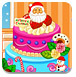 漂亮的圣诞节蛋糕