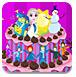 艾莎宝贝的漂亮蛋糕