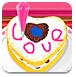 情人节的甜蜜蛋糕
