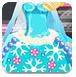 冰雪女王蛋糕