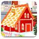 圣诞节的姜饼屋