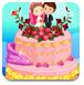 装饰现实婚礼蛋糕