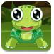小乌龟吃叶子