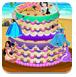 公主蛋糕的装饰