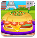 烹饪法国汉堡