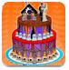 万圣节的婚礼蛋糕