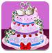 玫瑰婚礼蛋糕