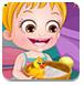 可爱宝贝和小黄鸭