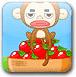 猴子扔苹果
