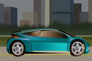 城市汽车变色