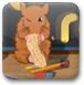 小仓鼠找花生