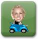 布兰妮玩赛车