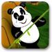 国宝大熊猫走钢丝