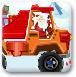 圣诞卡车运礼物