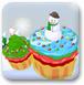飘雪纸杯蛋糕