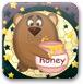 聪明小熊吃蜂蜜