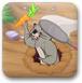 小兔子抢萝卜