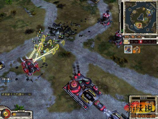 命令与征服之红色警戒3起义时刻 挑战低于平均时间原创攻略