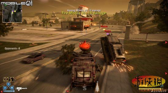虐杀式战斗赛车烈火战车游戏图文攻略 8 烈火战车攻略秘籍图片